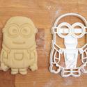 Minion, minyon sütemény kiszúró keksz forma - K, Konyhafelszerelés, Baba-mama-gyerek, Fotó, grafika, rajz, illusztráció, Mindenmás, Természetesen a minion-ok is megihlettek minket: a mókás kis figurákat is süti formába öntöttük :) ..., Meska