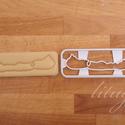 """Balaton süteménykiszúró forma, Balaton alakú keksz szaggató, Konyhafelszerelés, Esküvő, """"Nekem a Balaton a Riviéra..."""" :)  Balaton körvonalát formázó sütemény kiszúró / szaggató, keksz for..., Meska"""