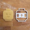 KICSI Legofej  sütemény kiszúró forma - Kacsintó, Konyhafelszerelés, Baba-mama-gyerek, Fotó, grafika, rajz, illusztráció, Mindenmás, Sokak kérésére kisebb méretekben is elkezdtük gyártani formáinkat.    Kacsinto Lego figura fejét fo..., Meska