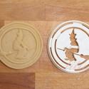 Halloween - Boszorkány sütemény linzer keksz kiszúró forma, Konyhafelszerelés, Baba-mama-gyerek, Fotó, grafika, rajz, illusztráció, Mindenmás, A közelgő Halloween alkalmából készítettük ezt a boszorkát formázó sütemény linzer keksz kiszúró / ..., Meska