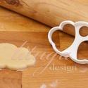 KICSI Felhő (csak körvonal) sütemény keksz linzer kiszúró forma , Konyhafelszerelés, Baba-mama-gyerek, Sokak kérésére kisebb méretekben is elkezdtük gyártani formáinkat.   A felhőt formázó sütemény kiszú..., Meska