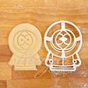 Kenny (South Park) sütemény kiszúró keksz forma, Konyhafelszerelés, Férfiaknak, Konyhafőnök kellékei, Fotó, grafika, rajz, illusztráció, Mindenmás, A South Park figuráit sem hagyhattuk ki... ő itt Kenny :)  sütemény kiszúró keksz linzer  forma   M..., Meska