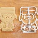 Kyle Broflovski (South Park) sütemény kiszúró keksz forma, Konyhafelszerelés, Férfiaknak, Konyhafőnök kellékei, Karácsonyi, adventi apróságok, Fotó, grafika, rajz, illusztráció, Mindenmás, A South Park figuráit sem hagyhattuk ki... ő itt Kyle   :)   sütemény kiszúró keksz linzer  forma  ..., Meska