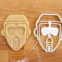 Star Wars - NEW, az új Scout trooper alakú sütemény kiszúró forma, Konyhafelszerelés, Férfiaknak, Konyhafőnök kellékei, Fotó, grafika, rajz, illusztráció, Mindenmás, Az új SW Scout trooper-t  formázó sütemény kiszúrót is el kellett készítenünk :)    Kb. 8cm magas x..., Meska