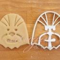 Star Wars - Chewbacca alakú sütemény kiszúró forma, Konyhafelszerelés, Férfiaknak, Konyhafőnök kellékei, Fotó, grafika, rajz, illusztráció, Mindenmás, Chewbacca-t  stilizáló sütemény kiszúrót is kellett készítenünk :)    Kb. 9 cm magas x 9 cm széles ..., Meska