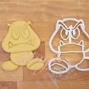 Goomba formájú sütemény kiszúró forma, Konyhafelszerelés, Baba-mama-gyerek, Fotó, grafika, rajz, illusztráció, Mindenmás, Goomba formájú sütemény kiszúró / szaggató forma a Mario játékból  Kb. 8,5 cm magas x 7,5 cm széles..., Meska