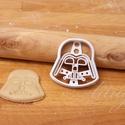KICSI Darth Vader  sütemény kiszúró forma, Konyhafelszerelés, Dekoráció, Férfiaknak, Ünnepi dekoráció, Karácsonyi, adventi apróságok, Konyhafőnök kellékei, Fotó, grafika, rajz, illusztráció, Mindenmás, Sokak kérésére kisebb méretekben is elkezdtük gyártani formáinkat (5 cm magas)  Darth Vader /  süte..., Meska