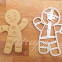 Shrek Mézi mézeskalács sütemény linzer keksz kiszúró forma - mézeskalács forma, Konyhafelszerelés, Fotó, grafika, rajz, illusztráció, Mindenmás, Mézi a Shrek c. meséből :)   Kb. 8 cm magas    A siker érdekében fontos, hogy kevésbé puffadó tészt..., Meska