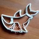 Cápa sütemény kiszúró forma, Konyhafelszerelés, Baba-mama-gyerek, Fotó, grafika, rajz, illusztráció, Mindenmás, Állatos sorozatunk következő tagja: cápát formázó sütemény kiszúrót / szaggatót készítettünk.  Kb. ..., Meska
