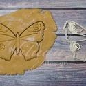 Pillangó lepke keksz linzer kiszúró forma, szaggató, Pillangó, lepke alakú  sütemény keksz linzer k...