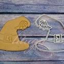 Boszorkány kalap Halloween sütemény linzer keksz kiszúró forma, Konyhafelszerelés, Baba-mama-gyerek, A közelgő Halloween alkalmából készítettük ezt a boszorkány kalapot formázó sütemény linzer keksz ki..., Meska