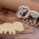 Dínós süteménykiszúró forma - Triceratops, Egy egész csorda jópofa (süti)triceratops várj...