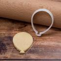 Lufi süteménykiszúró, Konyhafelszerelés, Egyszerű lufit formázó sütemény kiszúró / szaggató, keksz forma.   Kb. 6 cm magas  Ideális születésn..., Meska