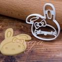 Húsvéti Hello Kitty sütemény kiszúró forma, Konyhafelszerelés, Baba-mama-gyerek, A bájos kiscica, Kittyke a közelgő húsvétra nyuszisapkát öltött :)   Gyermek szülinapi zsúrokra ideá..., Meska