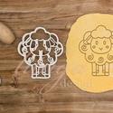 Bárány kiszúró (EAB2) - Húsvéti sütemény linzer keksz kiszúró forma, Konyhafelszerelés, Húsvétra is nagyszerű ez az aranyos bárány alakú sütemény kiszúró / szaggató forma, amely kb. 8 cm m..., Meska