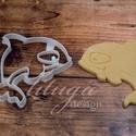 Orka süteménykiszúró, Gyilkos bálna süteménykiszúró, mézeskalács forma, keksz, linzer kiszúró, Konyhafelszerelés, Baba-mama-gyerek, Állatos sorozatunk következő tagja: gyilkos bálnát formázó sütemény kiszúrót / szaggatót készítettün..., Meska