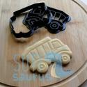 Teherautó (2020) süteménykiszúró forma - Járművek, billencs kekszkiszúró, teherautó mézeskalács, Új teherautó kekszkiszúrót készítettünk. Kb...