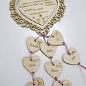 Ballagási ajándék óvó néninek, tanár néninek - csipkés szív, Ballagási búcsúajándék óvó- és tanár nén...