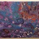 Némo, Dekoráció, Otthon, lakberendezés, Kép, Falikép, Akril festmény, vakrámára feszített vásznon. Mérete: 30X50 cm., Meska