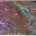 Akril festmény 023, Dekoráció, Otthon, lakberendezés, Kép, Falikép, Festészet, Akril festmény, vakrámára feszített vásznon. Mérete: 35X25 cm., Meska