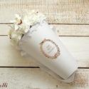 RomanticRosebox, Dekoráció, Esküvő, Esküvői dekoráció, Esküvői csokor, Lepd meg szeretteidet ezzel a romantikus virágdobozzal, melybe fehér habrózsákkal gyöngyökkel és egy..., Meska