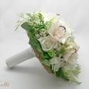 Orchideás  menyasszonyi csokor  (Lolli) - Meska.hu