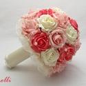Korall - ekrü menyasszonyi szett Szilvinek!, Kérlek ne vidd el, hacsak nem te vagy Szilvi! :) ...