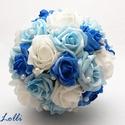 Kék menyasszonyi csokor, Ez kész van! Máris viheted ezt a szépséget!  M...