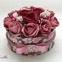 RomanticRosebox kicsi, Lepd meg szeretteidet ezzel a romantikus virágdob...