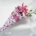 Mini Ajándékcsokor - orchideás, Mini ajándékcsokor  ballagásra,  szülőköszö...