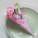 Unikornis Mini Ajándékcsokor, Baba-mama-gyerek, Ballagás, Baba-mama kellék, Unikornis mini ajándékcsokor  adhatod születésnapra, ballagásra,  csak úgy.. :)  Pink és kék habrózs..., Meska