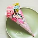 Unikornis Mini Ajándékcsokor, Dekoráció, Ünnepi dekoráció, Karácsonyi, adventi apróságok, Csokor, Unikornis mini ajándékcsokor  adhatod születésnapra, ballagásra,  csak úgy.. :)  Pink és kék habrózs..., Meska