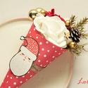Mikulás Mini Ajándék csokor, Télapó minicsokor, Mikulás Mini ajándékcsokor  Igazi meglepi csoko...