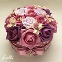 Rózsaboxok Amandának!, Romantikus virágdobozok Amandának!  Csodaszép m...