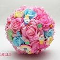 FunnyCandy unikornis ajándékcsokor ballagásra, ballagó csokor, Vicces ajándékcsokor kis szeretteidnek ballagás...