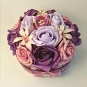 RomanticRosebox - virágdoboz, virágbox, rózsabox - kicsi, Lepd meg szeretteidet ezzel a romantikus virágdob...