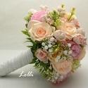 Egyedi esküvői szett Dórának!, A szett tartalma: 1db egyedi menyasszonyi selyemvi...