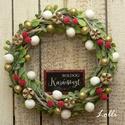 Bogyós kis karácsonyi koszorú, Ezt a kis koszorút, apró levelekkel, és bogyók...