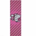 Hello Kitty PEYOTE minta, Hello Kitty! Öt színből álló, egyszemes peyot...
