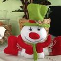 Karácsonyi díszek, Dekoráció, Ünnepi dekoráció, Karácsonyi díszeket készítettem nagy  szeretettel., Meska