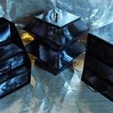 FEKETE-FEHÉR MÁRVÁNY MINTÁS ékszerdoboz / írószertartó szett /fekete alapon/, Dekoráció, Dísz, FEKETE-FEHÉR MÁRVÁNY MINTÁS doboz-szett /fekete alapon/  Kartonpapírból készült, TARTÓS, igényesen k..., Meska