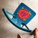 Lovechair No. 13. The Gipsy Soul, Bútor, Szék, fotel, Festett tárgyak, Újrahasznosított alapanyagból készült termékek, Upcycling szék újrahasznosítva a bohém stílus szerelmeseinek. Hétköznapi használatra és dekorációna..., Meska