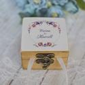 ÚJ!!! 2020-as gyűrűtartó doboz esküvőre, eljegyzésre - gyűrűpárna, Esküvő, Esküvői ékszer, Gyűrűpárna, Ha nem szeretnéd az esküvődre az unalmas gyűrűpárnát választani, jó helyen jársz :)  Egyedi, másik e..., Meska