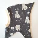 Űrhajós sapka, téli, jegesmedve, Ruha, divat, cipő, Kendő, sál, sapka, kesztyű, Sapka, Űrhajós sapka, téli, jegesmedve  A legújabb téli fejfedőm kicsit hasonlít a gyermekkorunkból..., Meska