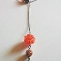 Elegáns Narancs, Ékszer, Nyaklánc, Kapocs nélküli, állítható hosszúságú nyaklánc. Finom, nőies megjelenésével hétköznapra és alkalomra ..., Meska