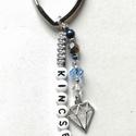 Kincsem - Becézgető kulcstartó , Szerelmeseknek, Mindenmás, Kulcstartó, Sikerült szív alakú kulcskarikát vennem, amihez egy szerelmes becézés jól illett. És, ha már kincs, ..., Meska