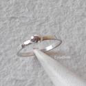 Bogyós ezüst gyűrű, Ékszer, óra, Gyűrű, Ékszerkészítés, Ötvös, Ezüst gyűrűt készítettem, ezüst bogyóval díszítettem, políroztam.   Belső átmérője 17,3 mm, a gyűrű..., Meska