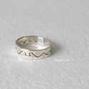 Összetartozók -  ezüst gyűrű, Mert ami összeillik, az összetartozik. Két kül...