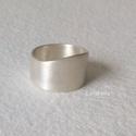 Ezüst gyűrű, Egyszerű, de nagyon mutatós  ezüst gyűrű. A g...