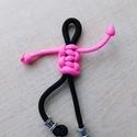 Figurás kulcstartó,cipzárhúzó, Mindenmás, Kulcstartó, Csomózás, Saját készítésű, figurás paracord kulcstartó kulcstartó karikával, de használható cipzárhúzónak is...., Meska